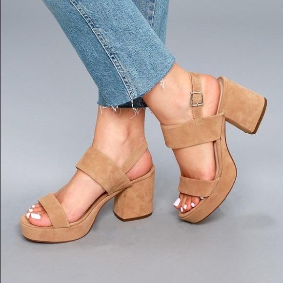 Steve Madden Women/'s Reba Suede Ankle-High Heel